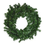 Darice Canadian Pine Christmas Wreath 24 in.