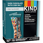 Kind Nutrition Bars, Dark Chocolate Nuts & Sea Salt - 12 Count, 16.8 oz box