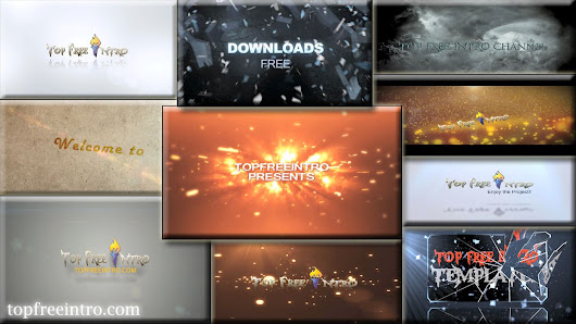 Top 10 Free Intro Templates 2015 After Effects No-plugins+download | topfreeintro.com