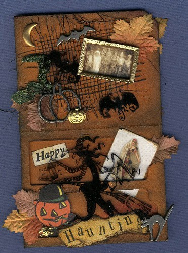 Slide Mailer - Happy Haunting - inside
