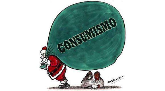 """""""No hay duda de que la Navidad papanoélica es la única festividad en que la resaca se anticipa a la conmemoración"""", dice Frei Betto. Imagen: Folhox."""