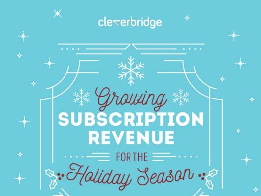 Growing Subscription Revenue for the Holiday Season [Infographic]