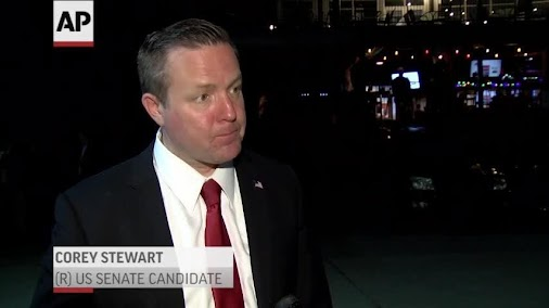BREAKING NEWS: Republican COREY STEWART wins Virginia GOP Senate primary, a strong supporter of president...