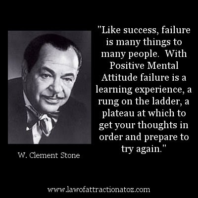 W Clement Stone Quote