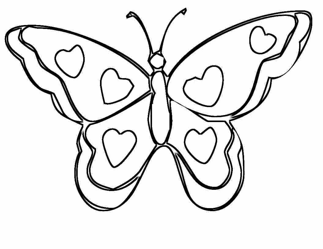 Раскраски бабочки распечатать | Детские раскраски ...