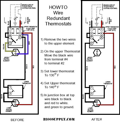 Hydrojet Water Heater Thermostat | Ge Hot Water Heater Wiring Diagram |  | Best Water Heater
