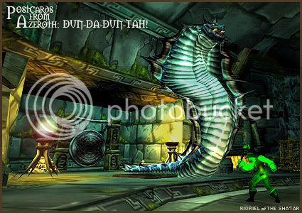 Postcards of Azeroth: Dun-da-Dun-Tah!, by Rioriel Ail'thera