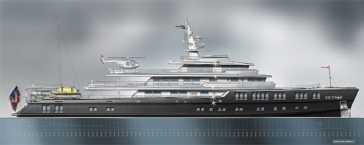 Barracuda Yacht design -