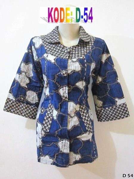 jual model batik terbaru Grosir batik pekalongan modern