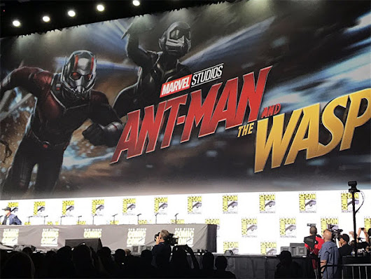 Marvel desembarca con Ant-Man and the Wasp, Captain Marvel, Vengadores: La Guerra del Infinito y Black Panther