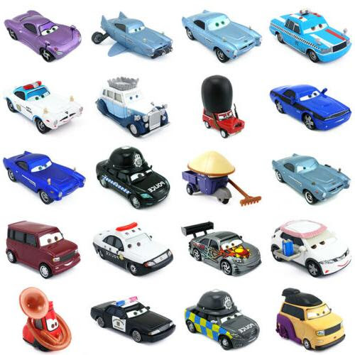 Disney Pixar Cars 2 Other Characters Metal Toy