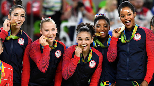The 'Final Five' make their mark in history