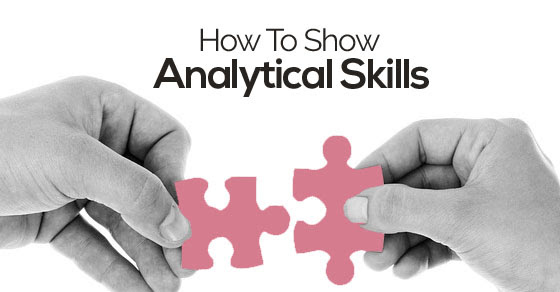 how show analytical skills