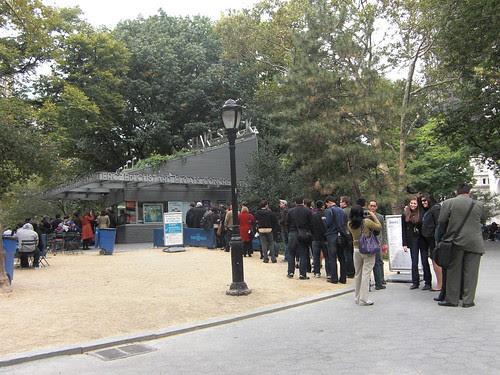 The famous queue