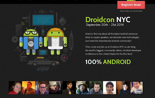 Droidcon In New York Will Host Over 50 Talks By Various Android Experts | Androidheadlines.com