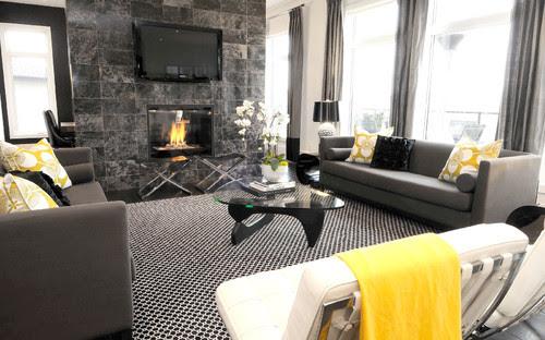 Willowgrove Living Room contemporary living room