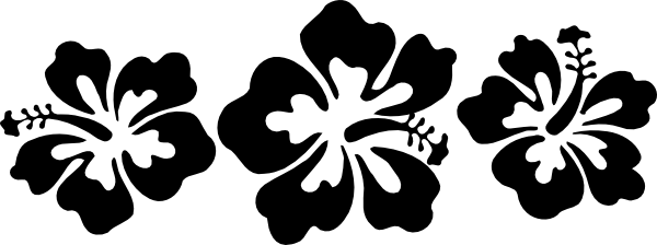 Free Black And White Hibiscus Download Free Clip Art Free Clip Art
