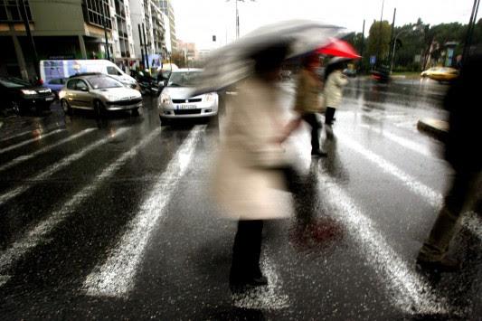 Ποδαρικό με καταιγίδες σε όλη τη χώρα – Πού θα χτυπήσει η κακοκαιρία τις πρώτες ημέρες του 2014