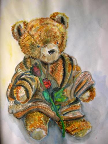 portrait1of a bear