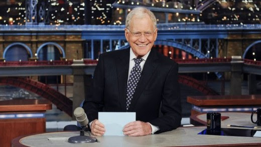 Early p & # xE5; Thursday morning Swedish time s & # XE4; NDEs David Letterman last & quot; Late Show & quot ;. Photo: CBS