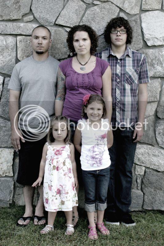 Jeff, Lila, Clarissa, Renee & Kurtis