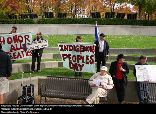 August 9th Is International Day Of The World's Indigenous People – Here Are Related Resources