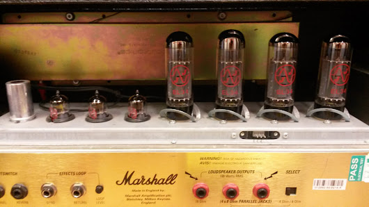 How to re-valve a Marshall JCM2000 dsl100