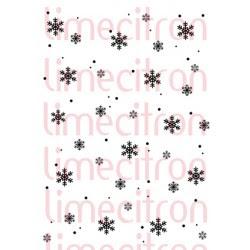 Texture - Nuit d'hiver (flocons)