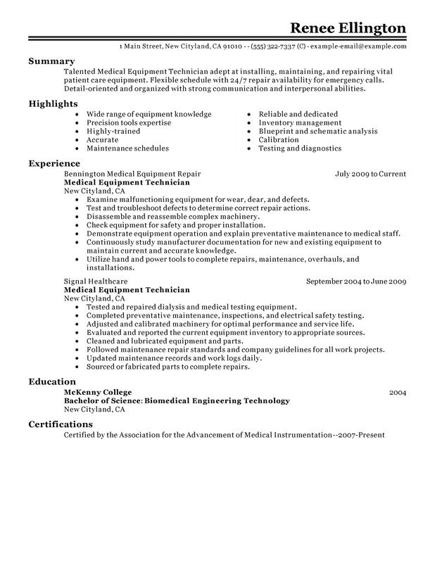 sample resume ultrasound tech