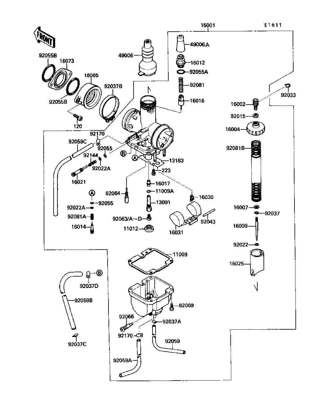 Diagram Kawasaki Bayou 220 Repair Manual Carburator Diagram Full Version Hd Quality Carburator Diagram Tickdiagram Potrosuaemfc Mx