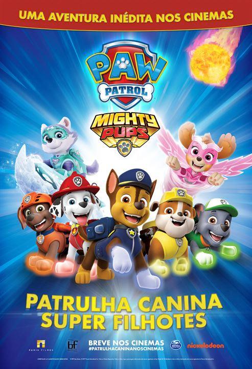 Patrulha Canina: Super Filhotes : Poster