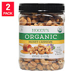 Hoody's Organic Honey Cashews 30 oz, 2-Pack