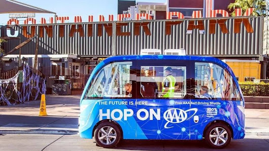 Self-driving bus involved in accident on its first day