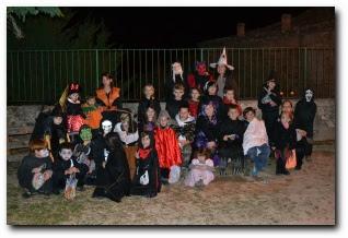 soirée Hallowe'en à Aullène le 30 octobre 2011