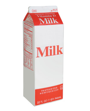 like a carton of milk. Otherwise, allegedly, having the originator of