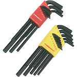 Bondhus Long Length Combination Hex Key Set - 22 count