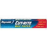 Reynolds 330 Cut-rite Wax Paper, 75 Sq.ft.