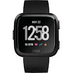 Fitbit - Versa Smartwatch Black