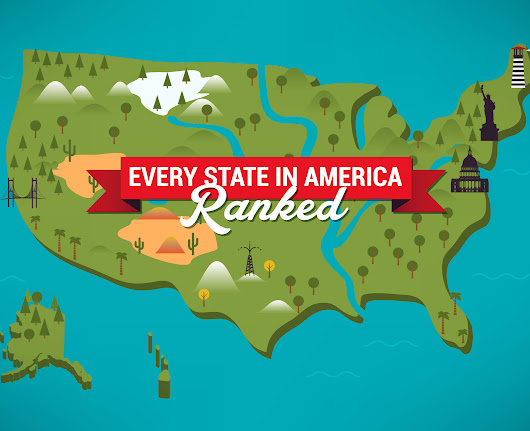 The Definitive and Final Ranking of All 50 States