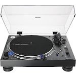 Audio-Technica AT-LP140XP-BK Direct-Drive Professional DJ Turntable, Black