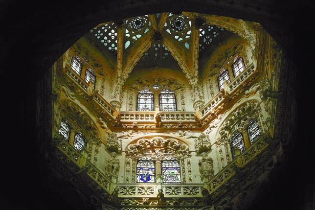 La espectacular cúpula fue realizada por Juan de Vallejo a mediados del siglo XVI.  ALBERTO RODRIGO Y VALDIVIELSO