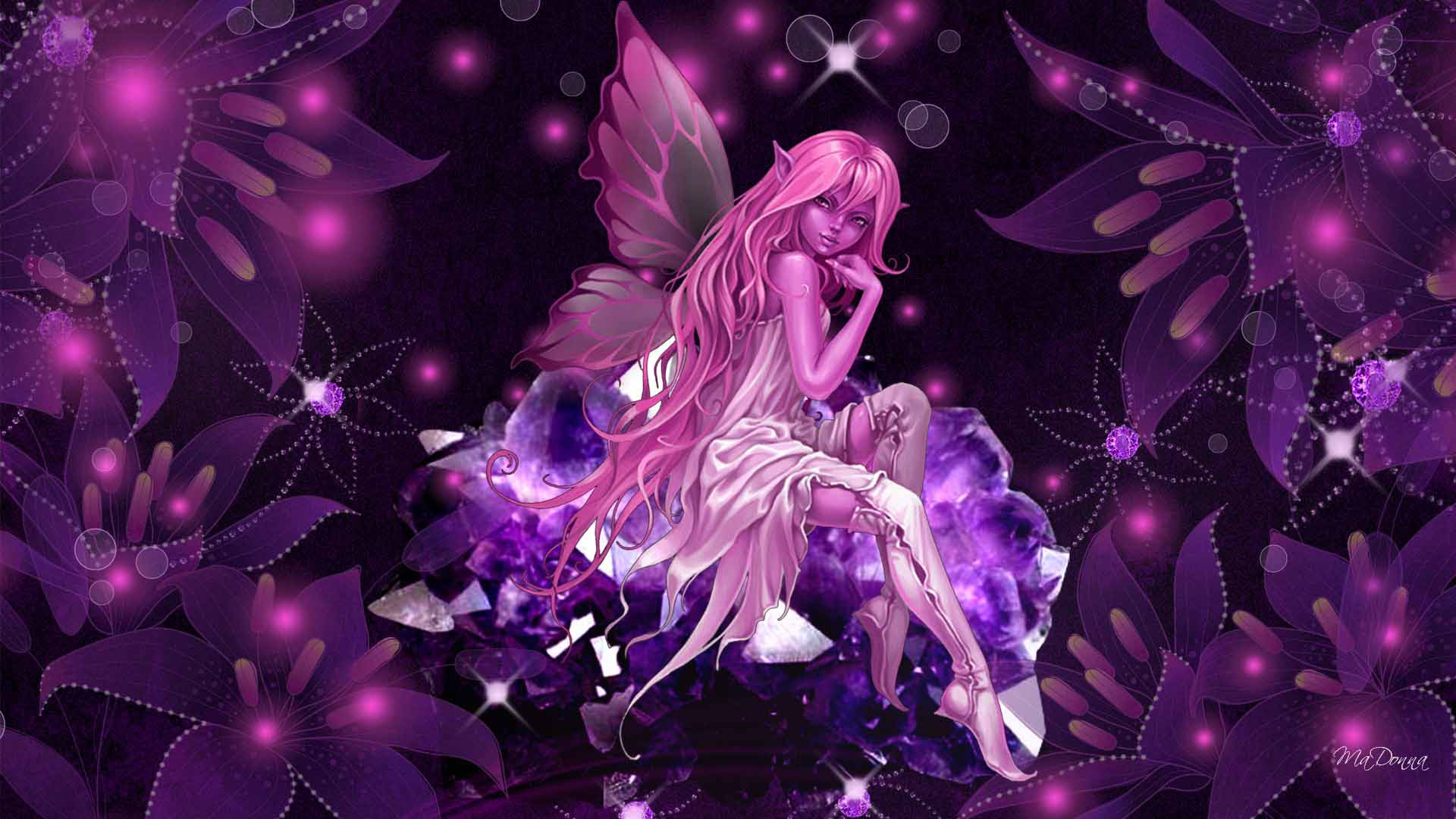 Pink Fairy Wallpapers - Wallpaper Cave