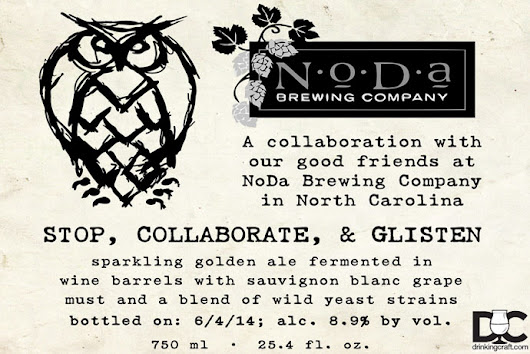 Night Shift And Noda Brewing Stop, Collaborate, & Glisten Release Details