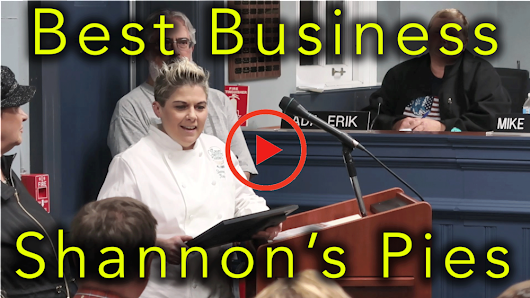 Best New Business in West Milford Award - Shannon's Eyes on the Pies