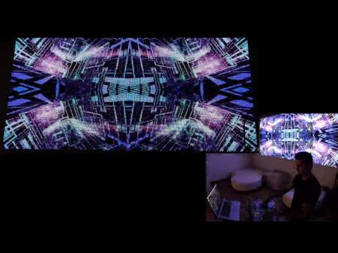 """Hydra"" Live Visual performance"