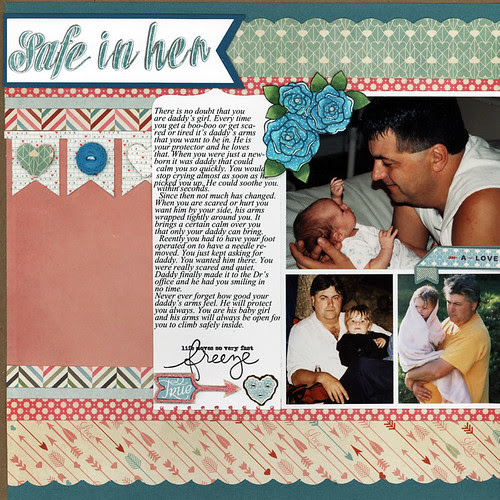 Daddy's arms left page