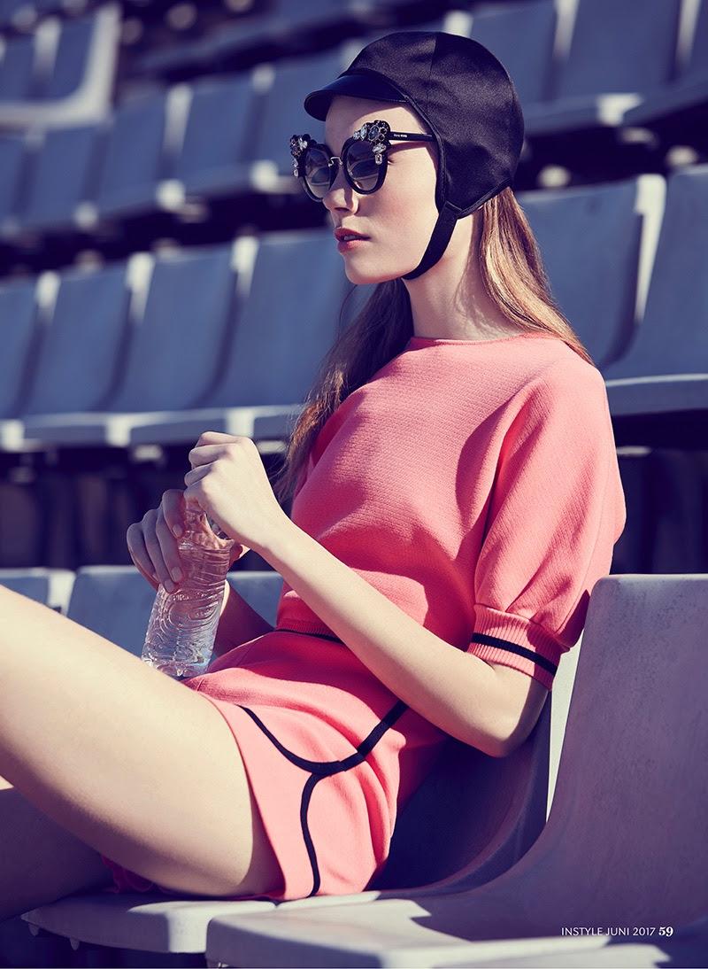 Photographed by Vladimir Marti, Carlotta models retro inspired summer looks
