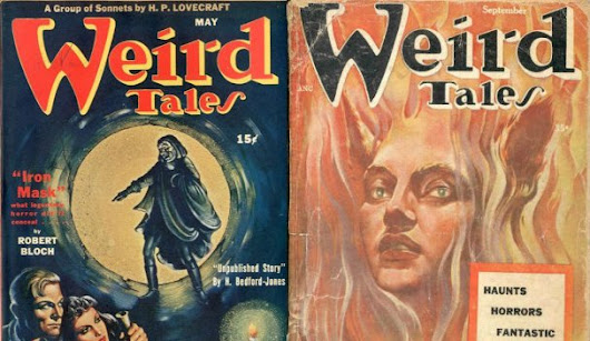 "Download Issues of ""Weird Tales"" (1923-1954): The Pioneering Pulp Horror Magazine Features Original Stories by Lovecraft, Bradbury & Many More Open Culture"