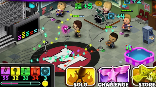Halfbrick Studios Releases Band Stars on Android So You Can Jam Like a Rock Star