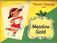 1955 Meadow Gold Mary Blair calendar